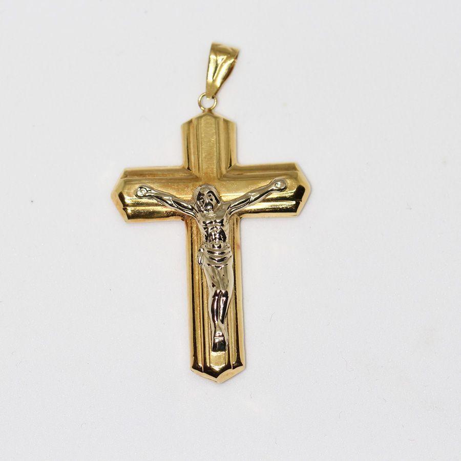 Cruz Cristo Oro